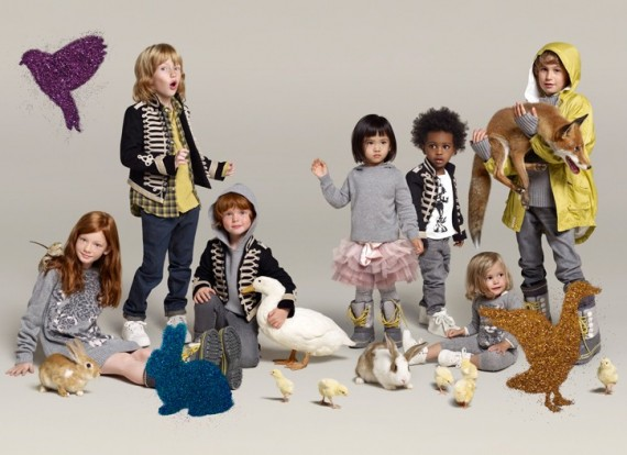 Детская одежда GAP и развитие ребенка