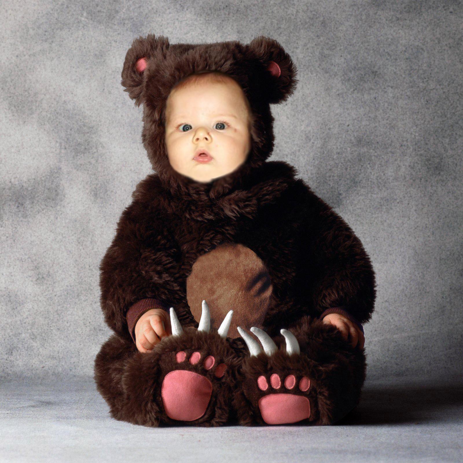 Фото детей в костюмах медвежонка