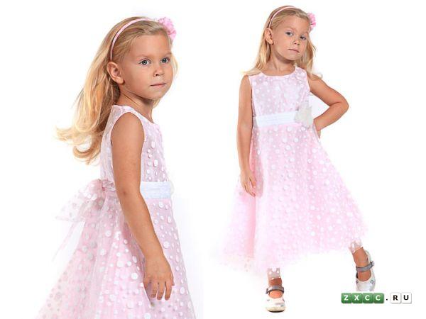 Современные детские платья