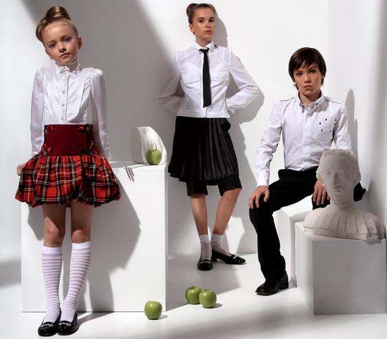 Современная мода для школьников и школьниц