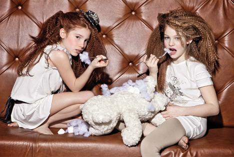 Модели детской одежды для девочек