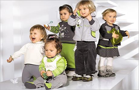 Детская одежда в России