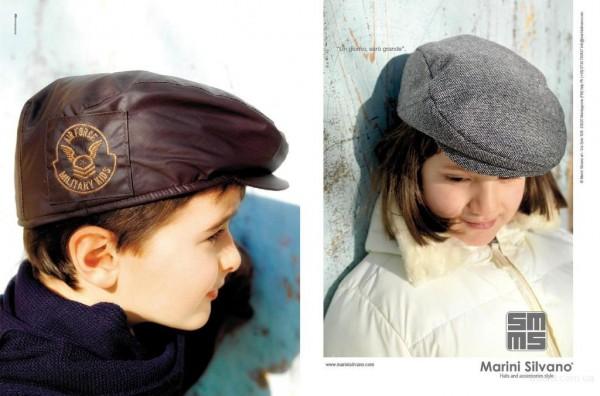 Модные детские головные уборы