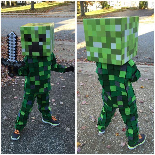 Одежда из Майнкрафта для детей